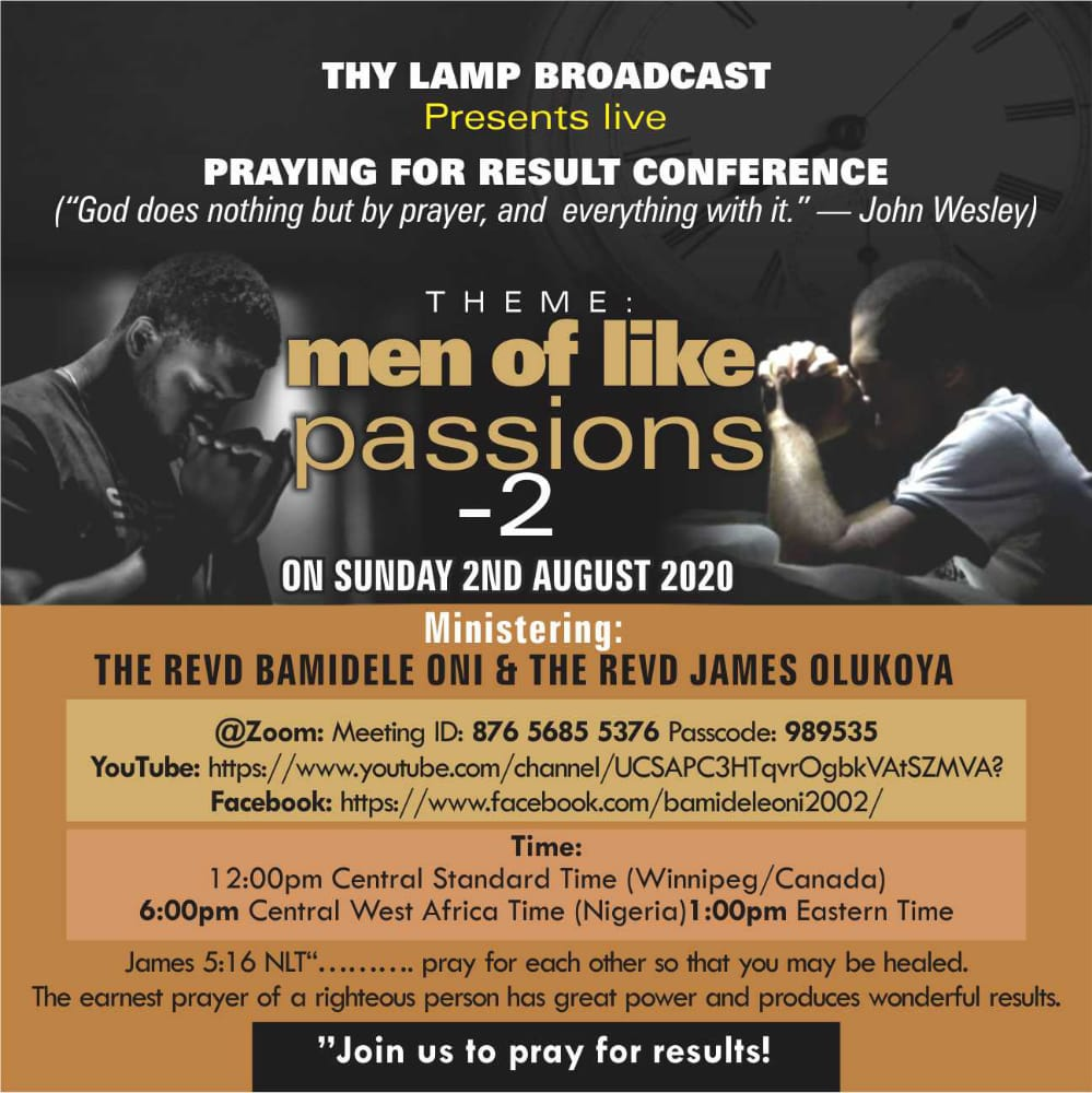 Handbill MEN OF LIKE PASSION 2