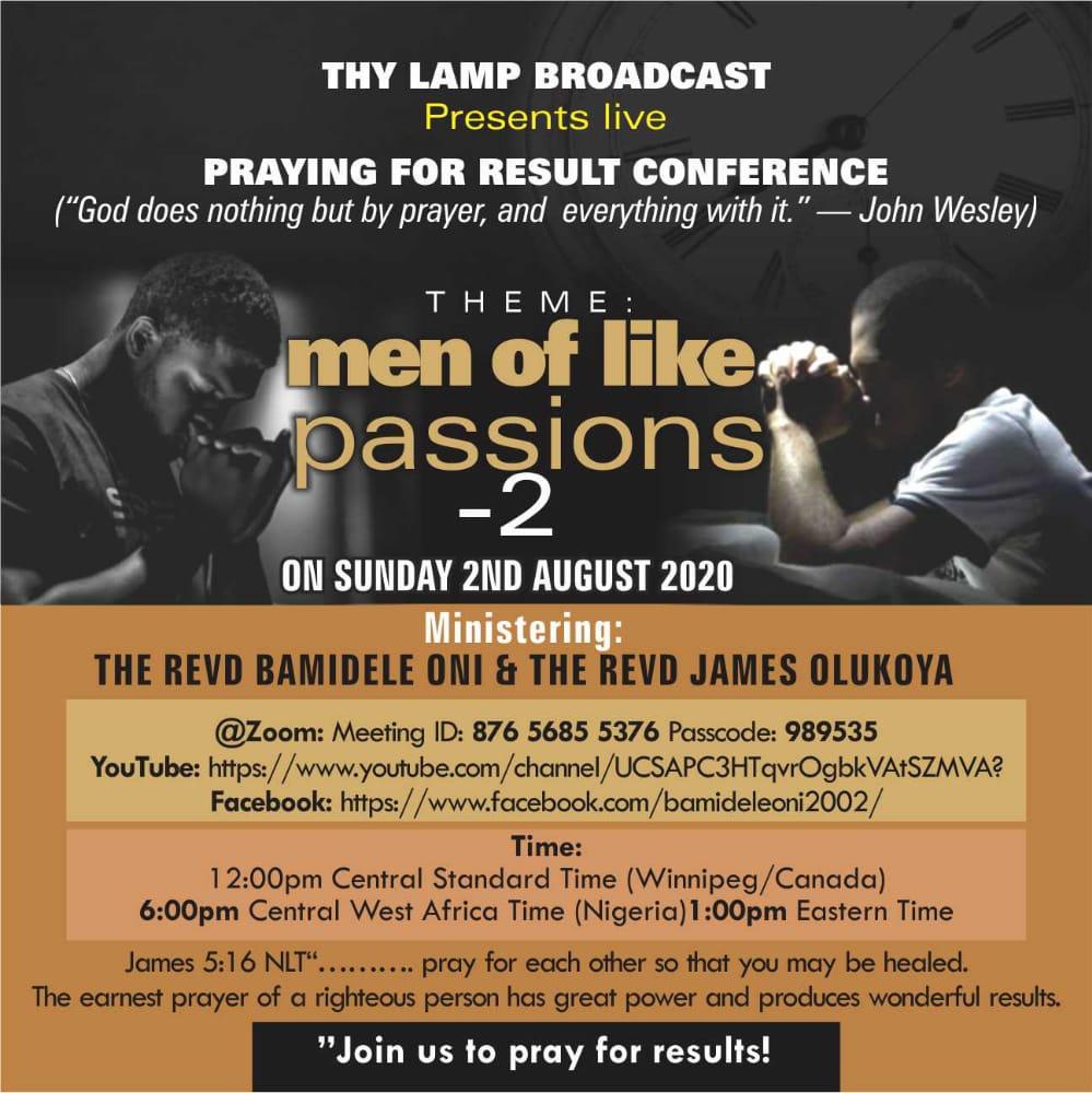 Handbill MEN OF LIKE PASSION 2